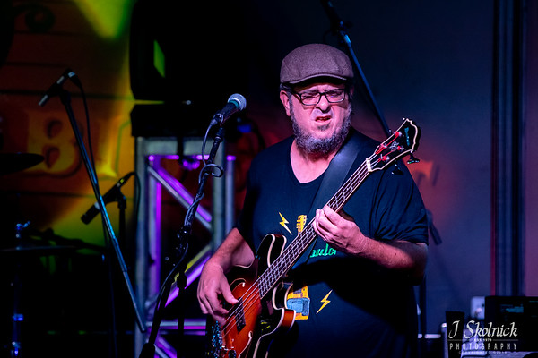 Damon Fowler with Justin Headley, drums,  Chuck Riley, bass at the Funky Biscuit 8/3/19 jskolnickphotography