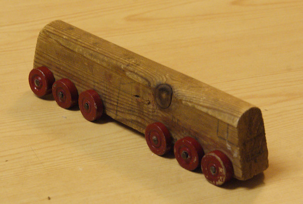 When I were a lad, we didn't have Brio. We had to make our own...