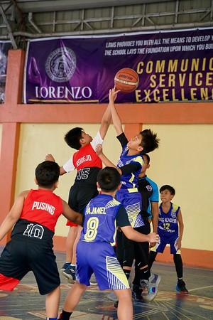 CAMPRISA Elementary Basketball 2019 SFAMSC vs MAGIS