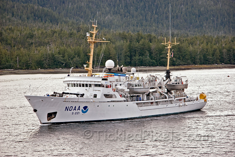 NOAA Ship Rainier S221 at Ketchikan