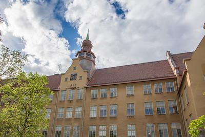 Västra Skolan, Falun 100 år