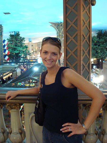 Molly on Paris Bridge