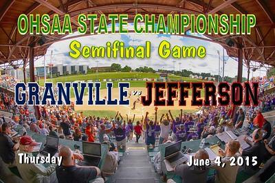 2015 State Semi-Finals versus Jefferson (06-04-15)