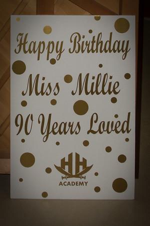 Millie Colvin 90th BD at HHA 4-20-17