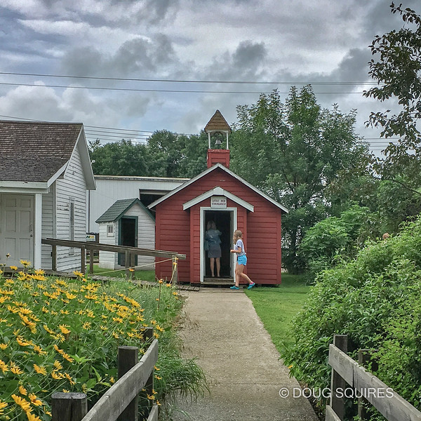 Late for school, Laura Ingalls Wilder Museum