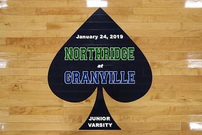2019 JUNIOR VARSITY Northridge at Granville (01-24-19)