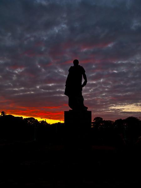 Granada sunset  Nicaragua