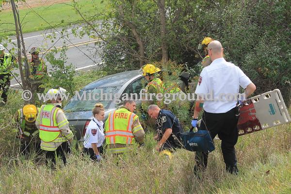 9/27/17 - Mason car vs tree, Hull Rd north of Tomlinson