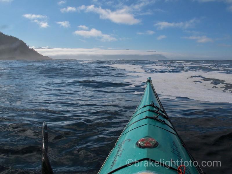 Approaching Cape Parkins
