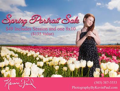 Tulip Farm Portrait Special