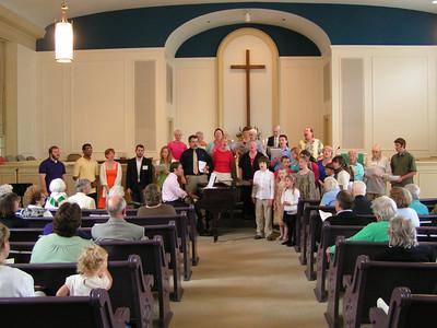 Celebration Sunday, June 6, 2010