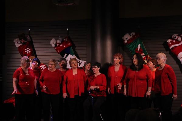 The Harmony Hill Chorus @ the Plaza-December 10, 2015