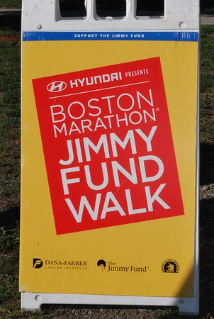 Dana-Farber Jimmy Fund Walk, September 25, 2016