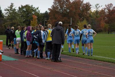 2014 - Women's soccer: Calvin vs. St. Mary's