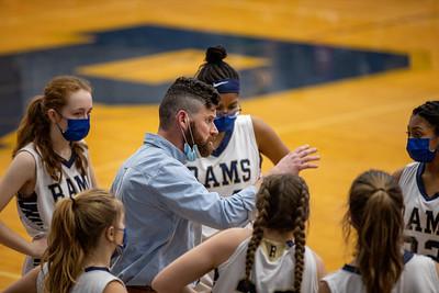Girls JV Basketball 2/16