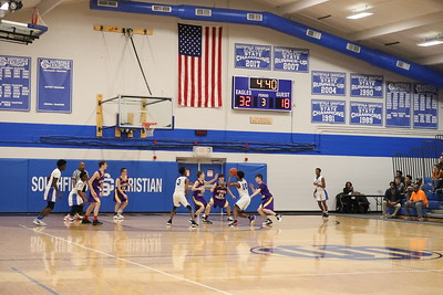JV boys hoop vs. SFC 1/17/2020