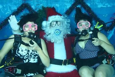SCUBA Santa!