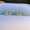 3.40ctw Old European Cut Diamond Pair 7