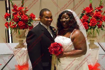Keith Howell and Roszella Washington Wedding