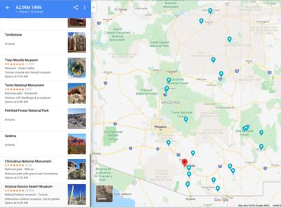 AZ/NM Maps