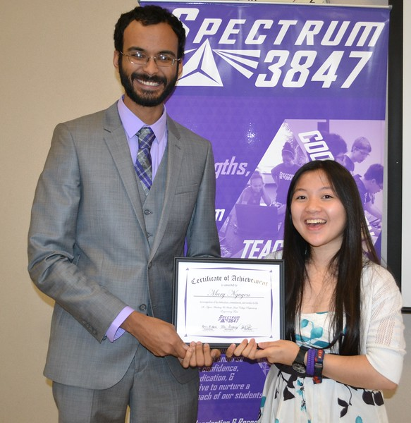 Spectrum FRC #3847 Annual Banquet May 13, 2016