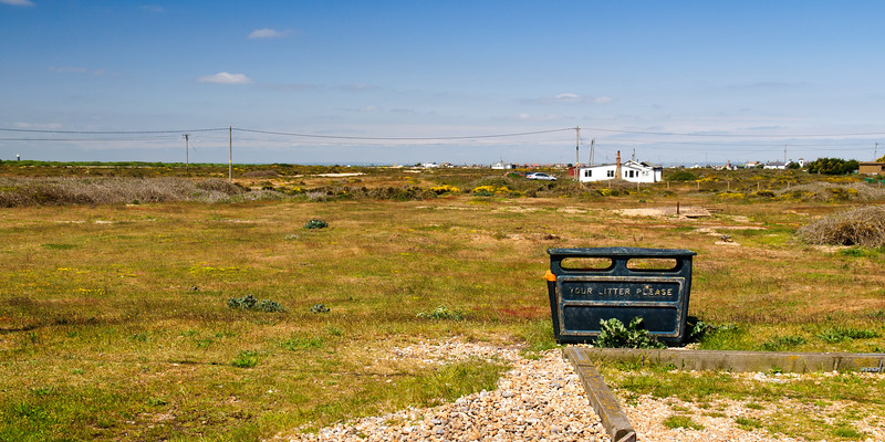 Scattered houses at Dungeness