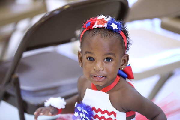 Little Miss Stars and Stripes
