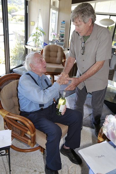 Marty Griffin's 99th Birthday 7/23/2019