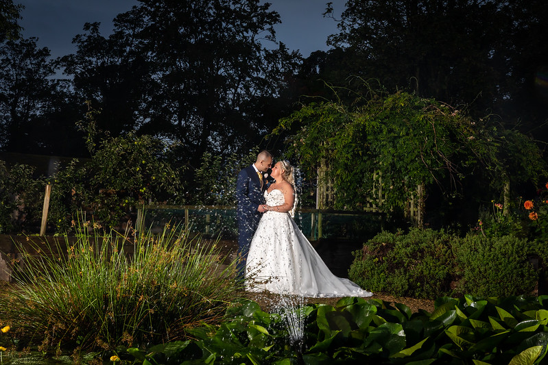 Emma and Carl at Ribby Hall, Wrea Green