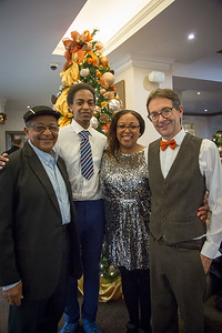 Plum Care Christmas Party Photography, Bromley Court Hotel