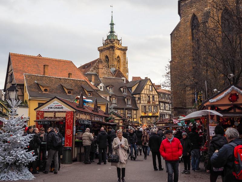 Christmas market in Colmar, France
