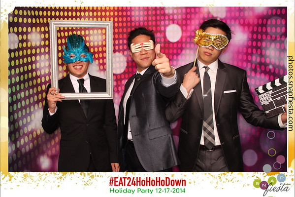 #EAT24HoHoHoDown Holiday Party 12.17.14