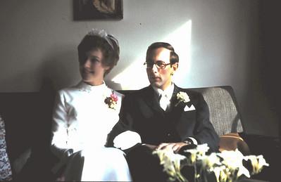 1972 Trouwen en huwelijksreis