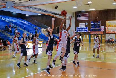 Girls Varsity Basketball vs Madison 12/13/16