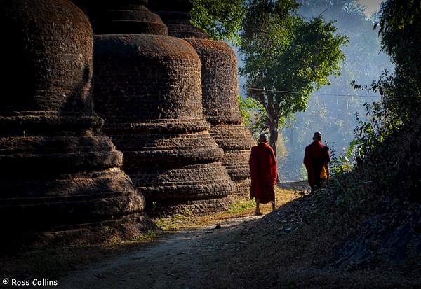 Andaw Pagoda, Mrauk U