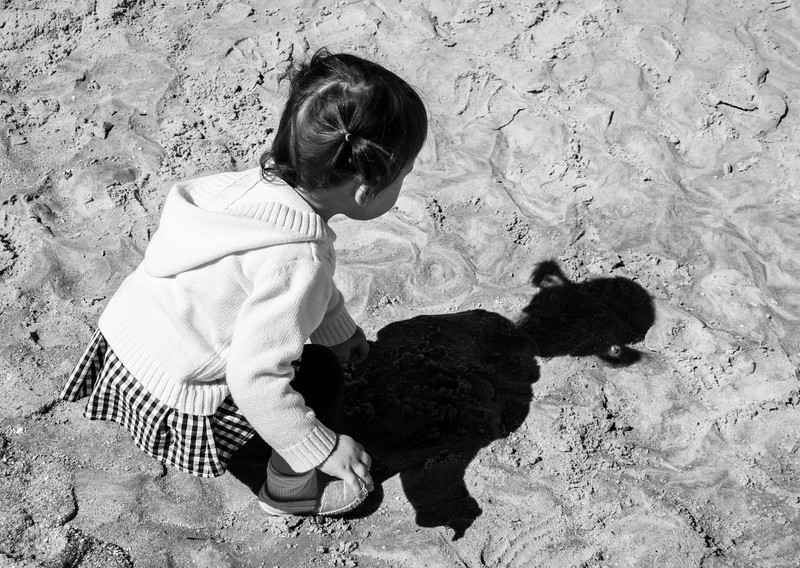 Annalivia and Her Shadow-0835bw.JPG