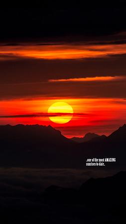 Nockspitze Sunrise