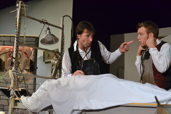 Richmond Community Theatre presents 'Frankenstein'