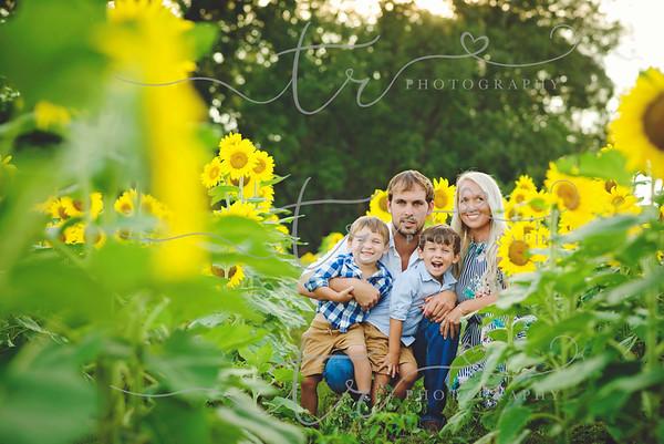 The Loveless Family~Sunflowers