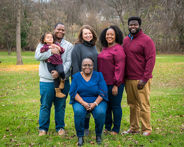 Thomas and Richardson Family Portrait Shoot