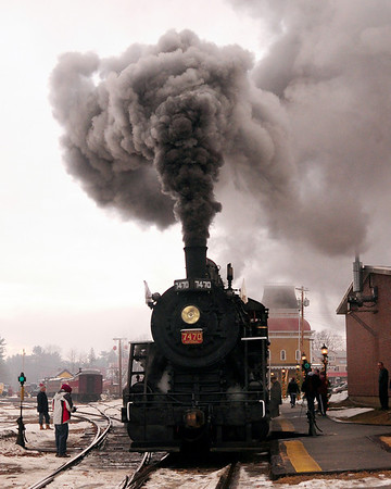 Steam In The Snow 2011