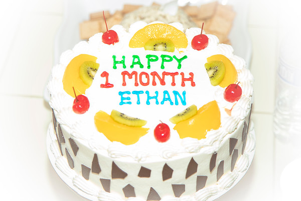 Ethan 1 Month