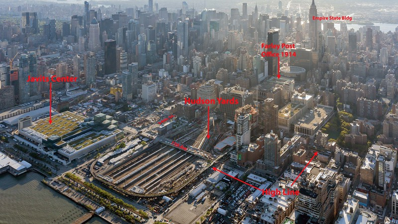 Photos start at Hudson Yards and High Line