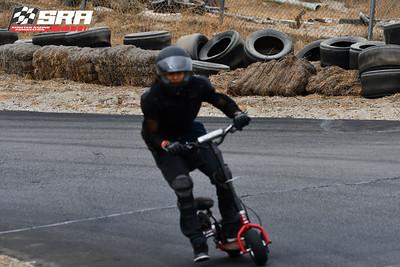 Go Ped Racer-Black Helmet_Red Ped