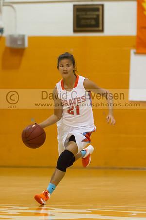 Boone Girls JV Basketball #21 - 2013