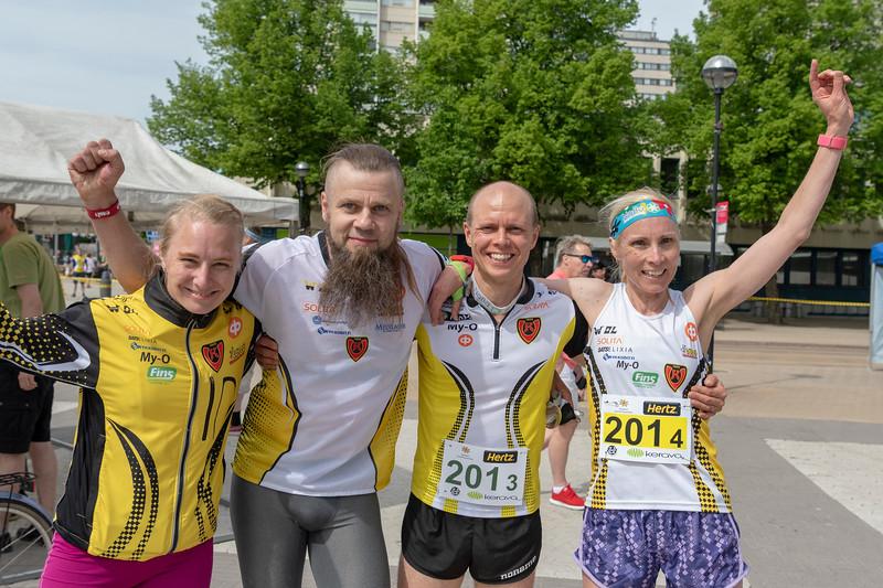 HD40: Hanna-Maija Koski, Tero Mamia, Jani Lakanen, Reetta Lakanen,