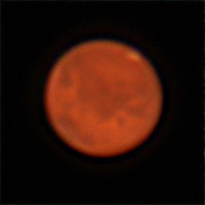 Mars at Opposition 2020 - 17/10/2020 (Processed cropped stack)
