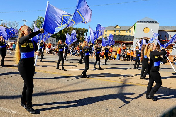 OSU Homecoming Parade 2018 (SHS Marching) - Lelan