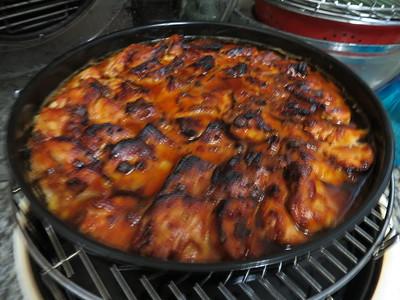 NU WAVE oven baked food