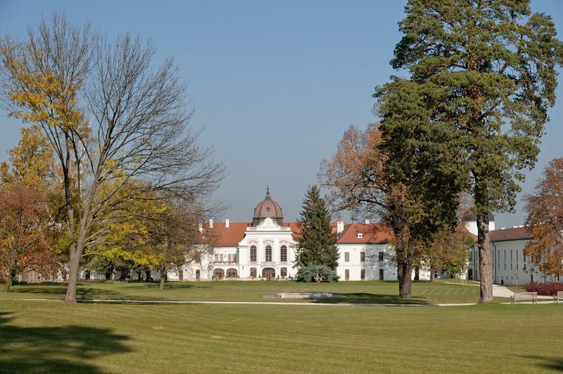 Gödöllő ist wirklich ein nettes Schloss. Viel kleiner als wir erwartet haben.